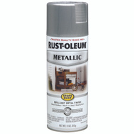 Rust-Oleum 7271830 Stops Rust Silver Metallic Spray Paint