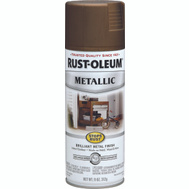 Rust-Oleum 7274830 Stops Rust Antique Brass Metallic Spray Paint