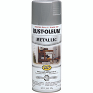 Rust-Oleum 7277830 Stops Rust Matte Nickel Metallic Spray Paint