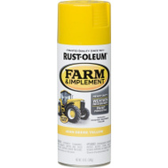 Rust-Oleum 280129 Farm Equipment John Deere Yellow Gloss 12 Ounce