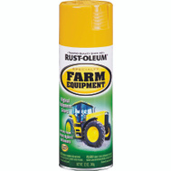 Rust-Oleum 7449830 Specialty Caterpillar Yellow Farm Equipment Spray