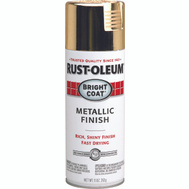 Rust-Oleum 7710830 Bright Coat Gold Metallic Finish 11 Ounce