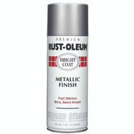 Rust-Oleum 7715830 Stops Rust Aluminum Bright Coat Metallic Finish Spray