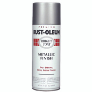 Rust-Oleum 7718830 Bright Coat Chrome Metallic Finish 11 Ounce