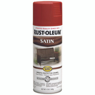 Rust-Oleum 7767830 Stops Rust Redwood Protective Satin Enamel Spray