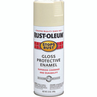 Rust-Oleum 7770830 Stops Rust Almond Gloss Protective Enamel Spray