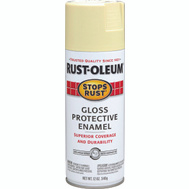 Rust-Oleum 7794830 Stops Rust Antique White Gloss Protective Enamel Spray