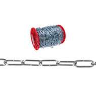 Campbell Chain 0723169 Handy Link Chain #120 By 175 Foot Reel Zinc Plated Steel