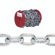 Campbell Chain 0725027 Proof Coil Chain 3/16 Inch 100 Foot Zinc Plated Steel