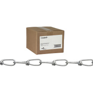 Campbell Chain 0762024 / 679456 Double Loop Chain 2/0 By 250 Foot Zinc Plated Steel