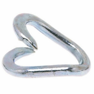 Campbell Chain 5800724 Repair Lap Link 5/16 By 1-1/2 Inch Zinc Plated Steel Bulk