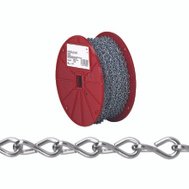 Campbell Chain AW0801427 Single Jack Chain #14 By 200 Foot Zinc Plated Steel