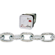 Campbell Chain 0143326 Proof Coil Chain 3/16 Inch By 150 Foot Zinc Plated Steel
