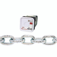 Campbell Chain 0143636 Proof Coil Chain 3/8 Inch By 45 Foot Galvanized Steel
