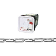 Campbell Chain 0332426 Straight Link Coil Chain 2/0 By 225 Foot Zinc Plated Steel