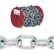 Campbell Chain 0722227 Proof Coil Chain 5/16 Inch 60 Foot Zinc Plated Steel