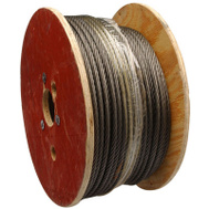 Campbell Chain 7008027 1/4X500 Fiber Wire Rope
