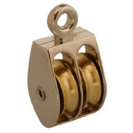 Campbell Chain T7655222 Rigid Double Pulley 1-1/2 Inch