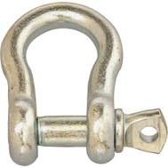 Campbell Chain T9600535 Anchor Shackle Screw Pin 5/16 Inch Zinc Plated Steel