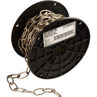 Campbell Chain 0722010 Decorator Chain #10 By 40 Foot Brushed Nickel On Steel