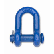 Campbell Chain T9420705 7/16 Inch BLU Util Clevis
