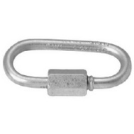 Campbell Chain T7645146V Quick Link 3/8 Inch 3-3/16 Inch Overall Length Zinc Plated Steel