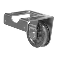Campbell Chain T7551522 Heavy Duty Joist Mount Pulley 2 Inch Single Sheave Zinc Plated Steel