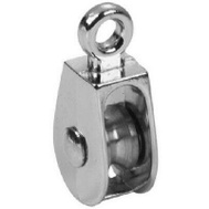 Campbell Chain T7655120 Single Rigid Rope Pulley 1-1/4 Inch