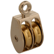 Campbell Chain T7655212 1 Inch Double Rigid Rope Pulley