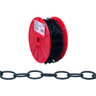 Campbell Chain 0722002 Decorator Chain #10 By 40 Foot Black Polycoat Steel