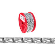 Campbell Chain 0723727 Sash Chain #35 BY 100 Foot Zinc Plated Steel