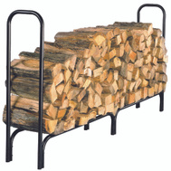 HY-C SLRXL Black Tubular Steel Log Holder
