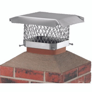 Hy-C SCSS913 9 Inch By 13 Inch Ss Chimney Cap
