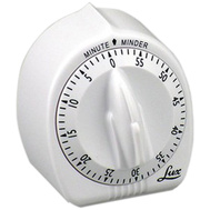 Lux CP2428-59 White 60 Min Cook Timer