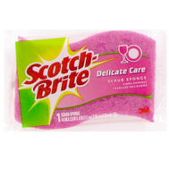 3M 435 Scotch Brite Scrubbing Sponge Light Duty China & Cookware