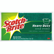 3M 455 Scotch Brite Household Scrub Sponge Heavy Duty