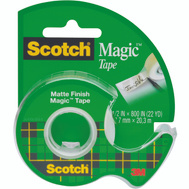 3M 119 Scotch Transparent Tape With Plastic Dispenser 1/2 By 800 Inch