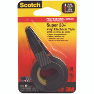 3M 195P Scotch Vinyl Electrical Tape In Dispenser 3/4 Inch By 200 Inch Black