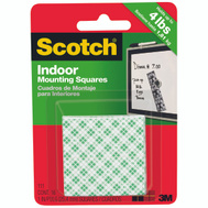 3M 111 Scotch 1 Inch Heavy Duty Mounting Squares Double Faced