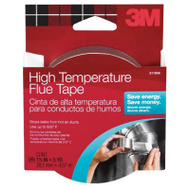 3M 2113 Scotch High Temperature Silver Flue Tape 1-1/2 Inch By 15 Foot