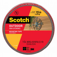 3M 411-LONG Scotch Outdoor Mounting Tape 1 Inch By 33.3 Feet