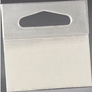3M 1075 Scotch Hanging Tabs Delta Punched Holes 2 Inch By 2 Inch, 10 Pack