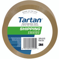 3M 3710-1PK-T Scotch Tan Package Tape 1-9/10 Inch By 54-3/5 Yards