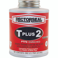 Rectorseal 23431 T Plus 2 Teflon Pipe Sealnt 16 Ounce Tplus2