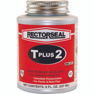 Rectorseal 23551 T Plus 2 Teflon Enriched Pipe Sealnt 8 Ounce