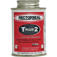 Rectorseal 23631 T Plus 2 Ptfe Pipe Thread Sealant 4 Ounces