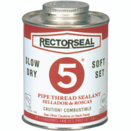 Rectorseal 25431 16 Ounce #5 Pipe Thread Sealant