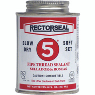 Rectorseal 25551 8 Ounce #5 Pipe Thread Sealant