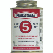 Rectorseal 25631 4 Ounce #5 Pipe Thread Sealant