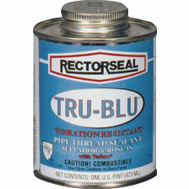 Rectorseal 31631 True Blue Brush Top Pipe Thread Sealant 4 Ounce